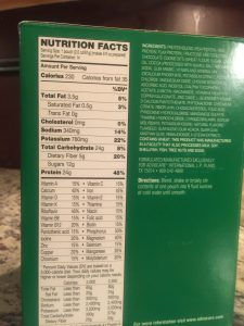 Advocare Protein Shake - 15 to Fit Pilates
