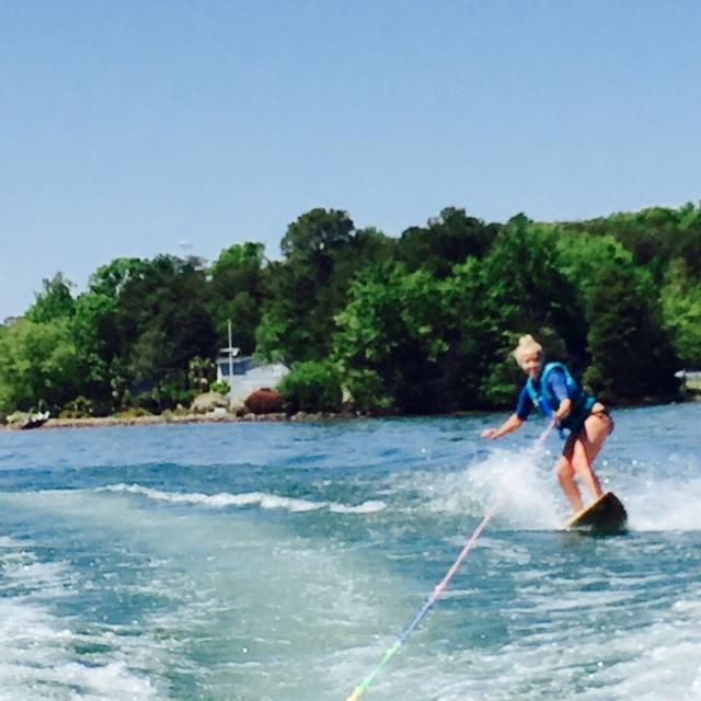 Kimmy Wakeboarding