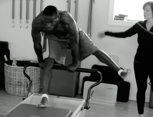 7 NFL Receivers Do Pilates