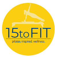 15 to Fit Pilates Logo