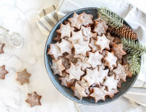 Almond and Cinnamon Christmas Stars