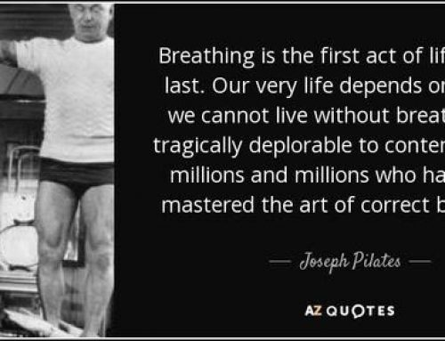 Pilates Breathing and 'The Hundred'